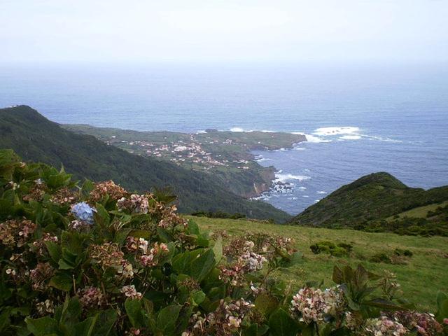 A view to Ponta Delgada.