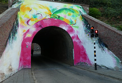 Mural in Bocholtz...