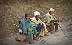 Pilgrims at LALIBELA (Etiopia)