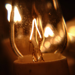 It was not said the candle can't be electric