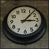 British Rail Paddington clock