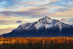 Pioneer Peak Sunset