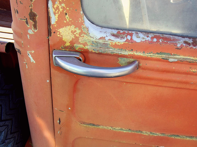 1949 Jeep Willys handle