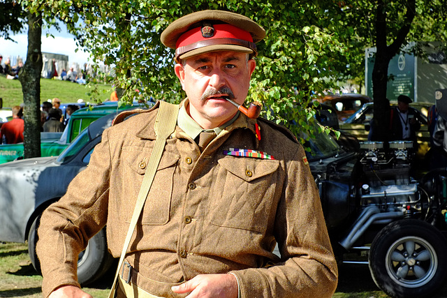 Goodwood Revival Sept 2015 The Officer 2  XPro1