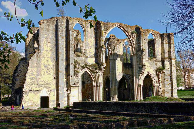 Ruines de l'abbaye Notre-Dame du Lys, Dammarie-les-Lys