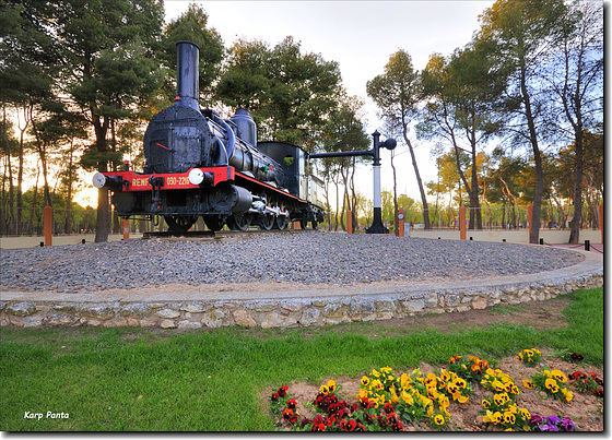 Locomotora de Vapor - Alcázar de San Juan - CLM