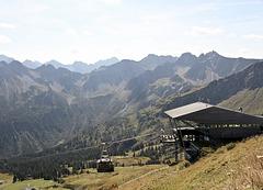 Fellhorngipfel Bergstation