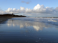 Happisburgh on the first day of Advent
