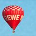 REWE Heißluftballon