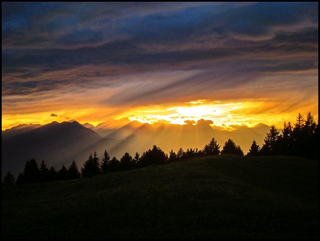 Über allen Gipfeln ist Ruh'