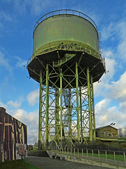 Der Wasserturm im Rheinpark