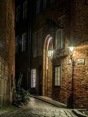 nächtliches Lübeck
