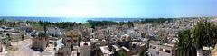 Takah : Panoramica dal castello - architettura originale della città