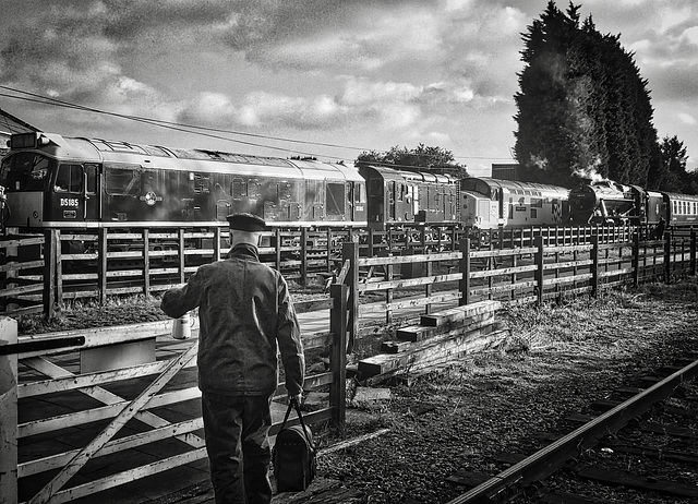 HFF - Great Central Railway Loughborough Leicestershire 3rd November 2019