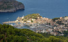 The Wonders of Mallorca:  High view down to Port de Sóller