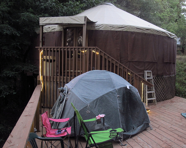 My Tent Behind The Yurt (1351)