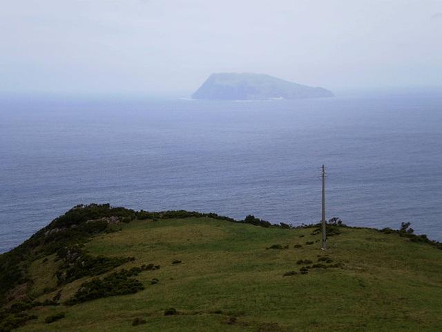 A view to Corvo Island.