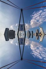 Frankfurt in the sky... (4xPiP)