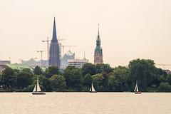 Hamburg Außenalster DSC07116