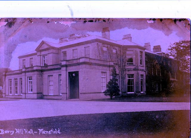 Berry Hill Hall, Mansfield, Nottinghashire c1920