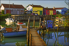 Morgenstimmung am Hafen von Marennes