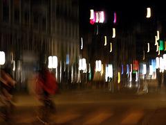 pioggia di luci su Zurigo