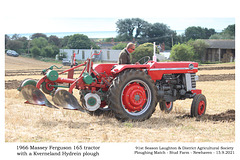 12 Massey Ferguson 165 1966 - Kverneland Hydrein - Graham Long