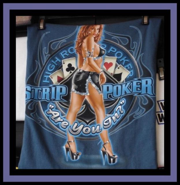 High heels & Strip Poker