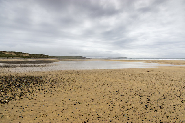 Moody sky over Freshwater West