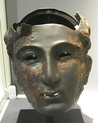 Iron Cavalry Helmet with Face Mask