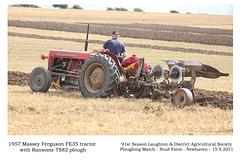 18 Massey Ferguson FE35 1957 - Ransome TS82 - Matt Butler
