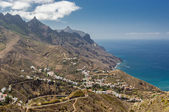 Canary Islands - Tenerife - Anaga Mountains - Mirador Mogoje
