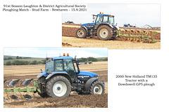 22 New Holland TM135 2000 Dowdswell GO5 John Smith