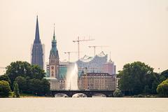 Hamburg Außenalster DSC07124