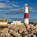 Portland Bill Lighthouse - rocky