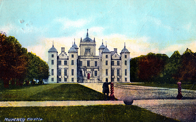 Murthly Castle, Perthshire, Scotland (Demolished c1950)