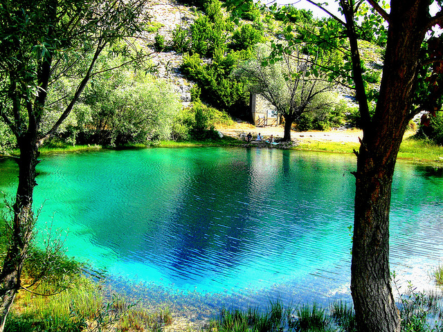Wellspring of the river Cetina II