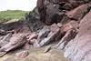 Gravel Bay - Moor Cliffs Formation with calcretes 1