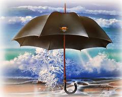 Le parapluie est de sortie !