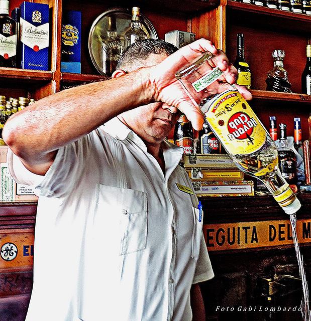 at the BODEGUITA del MEDIO - La Habana/Cuba