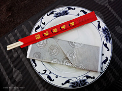 asian place setting