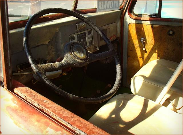 1949 Willys interior