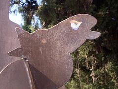 Horse's head or whale's head?
