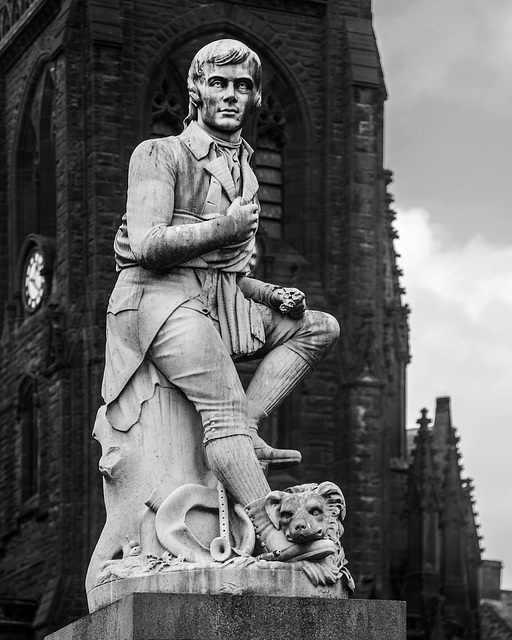 Robert Burns Statue, Dumfries