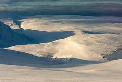 Magerøya snowscape