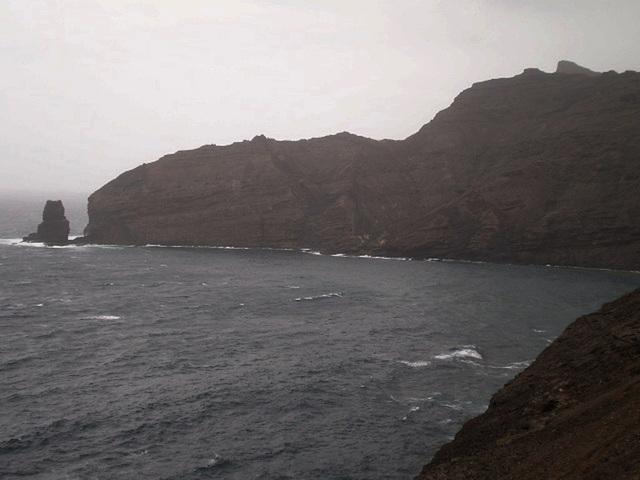 Northern coast of São Vicente, Cape Verde.