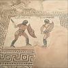 The two gladiators.