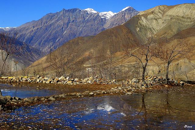 Vallée de la Kali Gandakhi-Mustang Népal