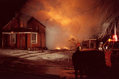 House Fire - New Year's Day 1985