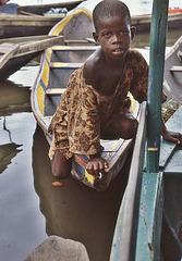 ... un instant à Ganvié (Bénin)